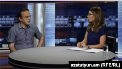 Armenia -- Artur Sakunts, human rights activist, on Azatutyun TV, 23Aug, 2016