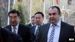 Вицепремиерот Владимир Пешевски со делегација на НР Кина која е во посета на Македонија