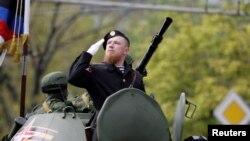 Командир так называемого «ополчения ДНР» Арсен Павлов по прозвищу «Моторола».