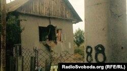 Один зі зруйнованих будинків ромів у Лощинівці, фото 29 серпня 2016 року