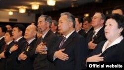 Жогорку Кенештин 70-жылдык мааракеси белгиленген салтанат.