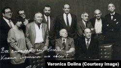 Аляксей Баталаў (крайні справа ў ніжнім шэрагу)
