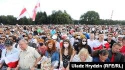 Митинг в поддержку Светланы Тихановской, Минск, 30 июля 2020 года