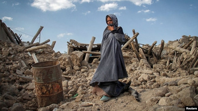 The earthquake devastated many villages in the northwest of the country.
