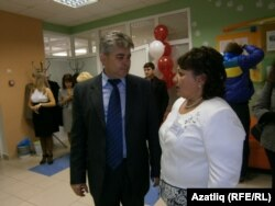 Винер Харисов һәм Светлана Сорожкина