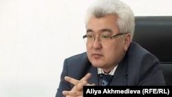 Первый заместитель прокурора Алматинской области Галымжан Тогизбаев. Талдыкорган, 5 января 2012 года.