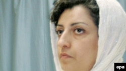 Ирандық құқық қорғаушы Наргес Мохаммади.