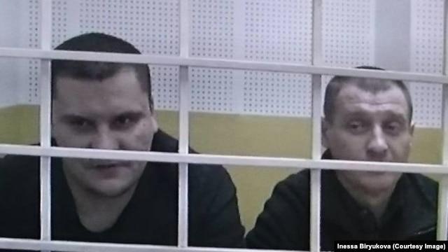 Филипп Романов (справа) и Сергей Буланов в Московском городском суде