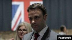 Ambasadori britanik në Kosovë, Ruari O'Connell.