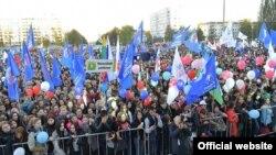 Башкортстан Республикасы көненә багышланган митинг-концерт. (Башкортстан башлыгы сайты фотосы)