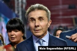 Georgian billionaire Bidzina Ivanishvili (file photo)