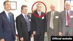 "Pavlo Lapshyn (circled) has been described by some who knew him in his hometown as ""quiet and diligent,"" with his teacher saying, ""Our first reaction was that there might have been some mistake, that [Pavlo] couldn't have done it."""