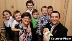 Світлана Давидова, її чоловік та діти