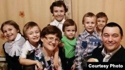 Семья Давыдовых.