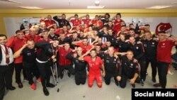 Түркиянын футбол боюнча командасы Албания менен беттешүүдөн кийин.