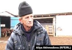 Сергей Пьянков, рабочий фермы. Талдыкорган.