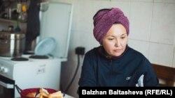 Альфия Исламова. Алматы, 12 декабря 2015 года.