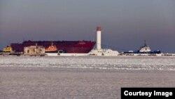 Скуте кригою Чорне море, Одеса (фото з сайту міськради)