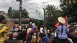 Военные парады в Крыму