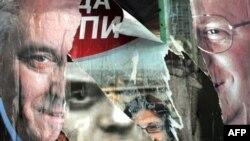 Mitrovicë - Gjatë fushatës për zgjedhjet serbe të 11 majit, 2008.