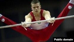 Степан Горбачев Гуанчжоудағы Азия чемпионатында. Қытай, қараша 2010 жыл.