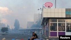 Донецьк після обстрілу, 29 серпня