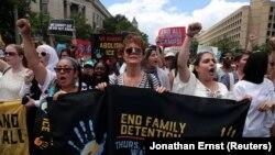Акція проти імміграційної політики Дональда Трампа, Вашингтон, 28 червня 2018 року