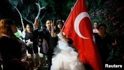 معترضان در پارک گزی استانبول