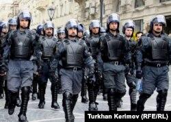 Әзербайжан полициясы. (Көрнекі сурет)