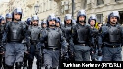 نیروهای پلیس جمهوری آذربایجان، عکس تزئینی است