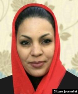 Iranian dervish in Qarchak prison- Elham Ahmadi