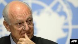 Cпецпредставитель ООН по Сирии Стаффан де Мистура.