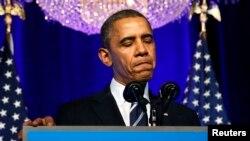 Президент США Барак Обама. Вашингтон, 4 ноября 2013 года.
