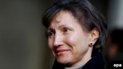 Вдова Александра Марина Литвиненко