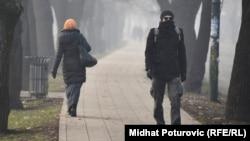 Уровень диоксида серы был высоким в Сараево (Босния и Герцеговина) в декабре 2015 года
