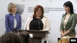 Прес-конференција во Специјалното јавно обвинителство.