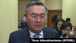 Мухтар Тлеуберди, первый заместитель министра иностранных дел Казахстана. Астана, 12 сентября 2018 года.