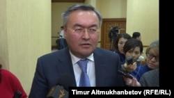 Мұхтар Тілеуберді, Қазақстан сыртқы істер министрінің бірінші орынбасары. Астана, 12 қыркүйек 2018 жыл.