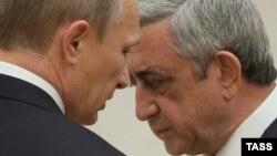 Putin və Sarkisian