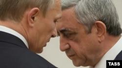 Vladimir Putin və Serzh Sarkisian - 2014