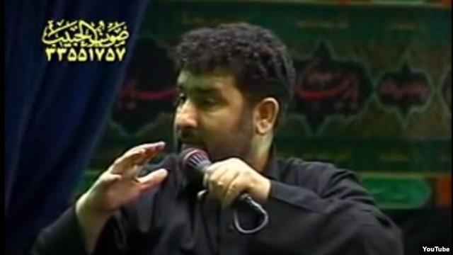 Iranian singer Saeed Haddadian