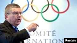Швейцари -- Дуьненаюкъарчу Олимпийн комитетан куйгалхо Бах Томас. Лозанна. 2016.
