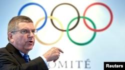 Кіраўнік Міжнароднага алімпійскага камітэту Томас Бах