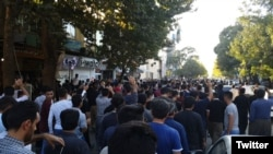 تجمع اعتراضی در مریوان