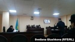 Махамбет Әбжанның аппеляциялық шағымына қатысты сот отырысы. Астана, 9 қаңтар 2018 жыл.