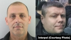 Predrag Bogicevic (left) and Nemanja Ristic (right) have been arrested in Serbia on suspicion of involvement in an alleged plot to overthrow Montenegro's government,