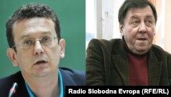 Asim Mujkić i Miodrag Živanović