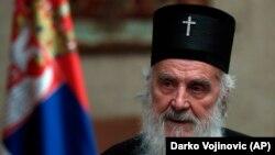 Српскиот патријарх Иринеј