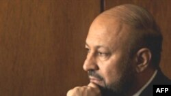 Former Afghan Transport Minister Hamidullah Qaderi