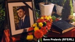 Obilježavanje devetogodišnjice ubistva Duška Jovanovića